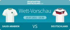 Saudi Arabien Deutschland Wetten Quoten Vorschau Olympia 2020